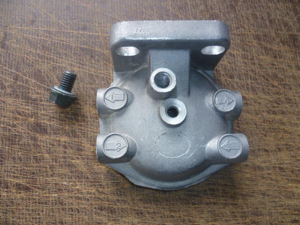 Dieselfiltergehäuse traktor